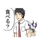 貧民超人カネナシくん(ぱげらった)(個別スタンプ:08)