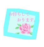 伝えたい想いにかわいい花を添えて。第11弾(個別スタンプ:14)