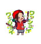 動く!頭文字「つ」女子専用/100%広島女子(個別スタンプ:24)