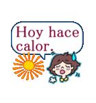 よく使うスペイン語の挨拶(個別スタンプ:35)