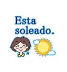 よく使うスペイン語の挨拶(個別スタンプ:37)