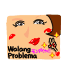 【Tagalog】大きな幸せリアクション。SEXY(個別スタンプ:18)