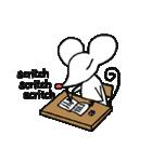 赤鼻チューのスタンプ 英語版(個別スタンプ:01)
