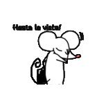 赤鼻チューのスタンプ 英語版(個別スタンプ:10)