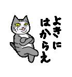 ブサイクなねこ(上から目線)(個別スタンプ:28)