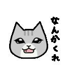 ブサイクなねこ(上から目線)(個別スタンプ:39)