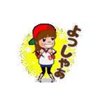 動く!頭文字「せ」女子専用/100%広島女子(個別スタンプ:14)
