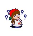 動く!頭文字「せ」女子専用/100%広島女子(個別スタンプ:22)