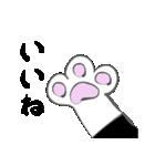 はちわれ靴下猫★日常会話★(個別スタンプ:02)