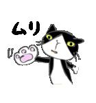 はちわれ靴下猫★日常会話★(個別スタンプ:04)