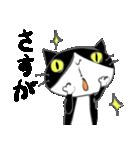 はちわれ靴下猫★日常会話★(個別スタンプ:06)