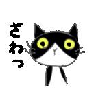 はちわれ靴下猫★日常会話★(個別スタンプ:23)