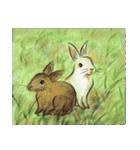 デジタルペンで描く日本の四季の風景の墨絵(個別スタンプ:22)