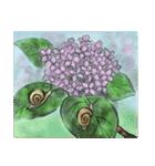デジタルペンで描く日本の四季の風景の墨絵(個別スタンプ:31)