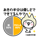【あき】の関西弁の名前スタンプ(個別スタンプ:29)