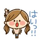かわいい主婦の1日【ゆる返事編】(個別スタンプ:10)
