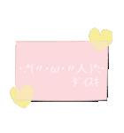 「 ω 」かおもじ(個別スタンプ:07)