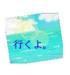 sea and seaside スタンプ .3(個別スタンプ:04)