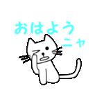 【猫言葉】たまですニャ(個別スタンプ:02)