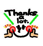 感謝セット(英語)(個別スタンプ:03)