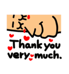感謝セット(英語)(個別スタンプ:22)