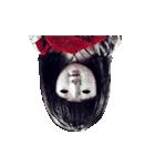 動く恐怖の人形.(個別スタンプ:09)