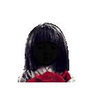 動く恐怖の人形.(個別スタンプ:12)