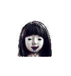 動く恐怖の人形.(個別スタンプ:14)