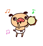 ゆるかわダンス♪パンパカパンツ(個別スタンプ:02)