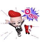 BIGBANG 'GO Blings' G DRAGON(個別スタンプ:05)