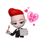 BIGBANG 'GO Blings' G DRAGON(個別スタンプ:06)