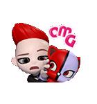 BIGBANG 'GO Blings' G DRAGON(個別スタンプ:09)