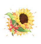 お「はな」し・花言葉と季節(個別スタンプ:3)