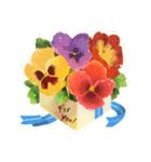 お「はな」し・花言葉と季節(個別スタンプ:7)