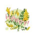 お「はな」し・花言葉と季節(個別スタンプ:8)