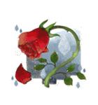 お「はな」し・花言葉と季節(個別スタンプ:34)