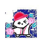 広島★優勝を応援する白犬(個別スタンプ:04)
