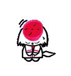 広島★優勝を応援する白犬(個別スタンプ:08)