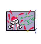 広島★優勝を応援する白犬(個別スタンプ:15)