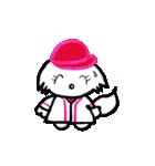 広島★優勝を応援する白犬(個別スタンプ:16)