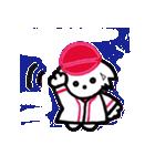広島★優勝を応援する白犬(個別スタンプ:20)