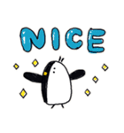 Easy-to-use-Penguins(個別スタンプ:16)