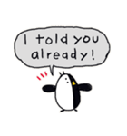Easy-to-use-Penguins(個別スタンプ:29)