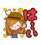 ♦♢大人女子のかわいい秋冬スタンプ♢♦(個別スタンプ:05)
