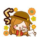 ♦♢大人女子のかわいい秋冬スタンプ♢♦(個別スタンプ:28)