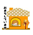 ♦♢大人女子のかわいい秋冬スタンプ♢♦(個別スタンプ:34)