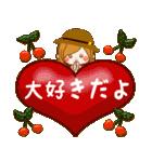 ♦♢大人女子のかわいい秋冬スタンプ♢♦(個別スタンプ:36)