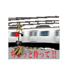 電車の動くスタンプ(個別スタンプ:10)