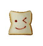 食パンにケチャップでお絵かき(個別スタンプ:1)