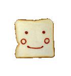 食パンにケチャップでお絵かき(個別スタンプ:3)